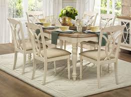 antique white dining room 78 oval dining table set in and antique white