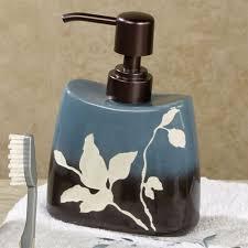 brown bathroom accessories interiors design