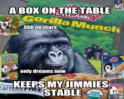 Gorilla Munch Meme - 15 top gorilla munch meme images and funny jokes quotesbae