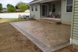 Stones For Patio Interesting Patio Paving Stones With The Best Stone Patio Ideas