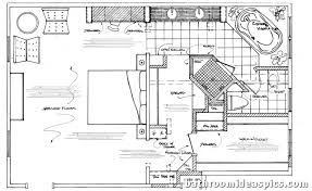 bath floor plans zspmed of master bath floor plans