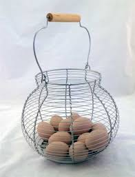 egg baskets style wire egg basket
