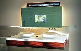 tv in the mirror bathroom tv mirror bathroom hidden tv mirror bathroom northlight co