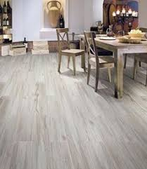 Gray Kitchen Floor by Style Selections Natural Timber Ash Glazed Porcelain Indoor