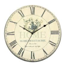 shabby chic wall clocks choice image home wall decoration ideas