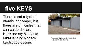 Mid Century Modern Landscaping midcentury modern landscape design