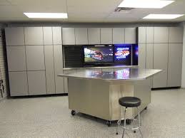 Cool Garage Designs by Cool Garage Custom Cabinets Decor Color Ideas Gallery Under Garage