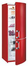for a fashionable kitchen gorenje red fridge freezer cheaper
