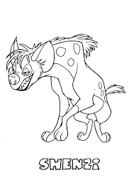 lion king coloring page for kids disney pages printables coloring