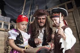 trick or treasure halloween half term pirates quest