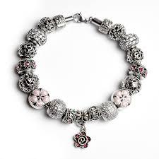 european style charm bracelet images Ch 004 completed european style charm bracelet jpg