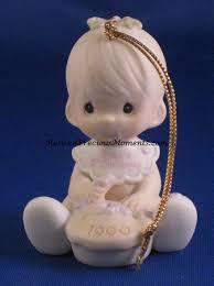 baby u0027s first christmas 1990 boy precious moments ornament
