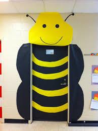 bumblebee classroom door for spring fcat door decoration you u0027ll