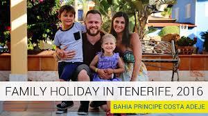 bahia principe tenerife costa adeje family 2016