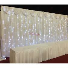 wedding backdrop stand uk 6mx3m white wedding backdrop led lights for sale