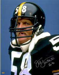 Pittsburgh Jack Jack Lambert Pittsburgh Steelers Autographed 8 U0027 U0027 X 10 U0027 U0027 Snarl