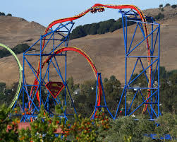 Superman Ride Six Flags Coastersandmore De Achterbahn Magazin Euro Attractions Show