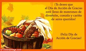 feliz día de acción de gracias free specials ecards 123 greetings