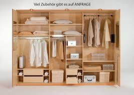 Schlafzimmerschrank Oslo Kleiderschrank Mit Schüben 6 Türig Andorra Von Wiemann Massive