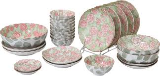auratic rose 36 piece dinnerware set service for 10 u0026 reviews