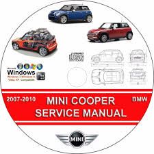 mini cooper s u0026 convertible service repair manual pdf on cd 2007