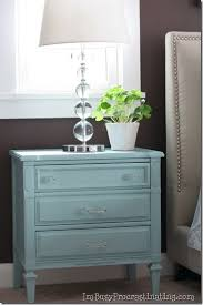 The Collected Interior DIY Painted Bedroom FurnitureTurquoise - Painted bedroom furniture