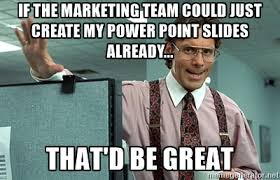 Meme Sles - why marketing and sales don t get along a marketer s perspective