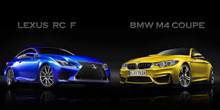 lexus coupe 2015 2015 lexus rc f vs bmw m4 coupe news gallery top speed