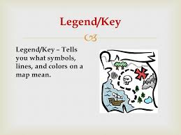 what is a map legend title tells you what the map is about title ppt