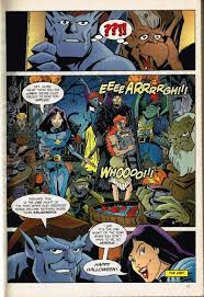 24 hours of halloween special the gargoyles halloween comics