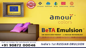 amour colors launched in india royal quality lead free home decor