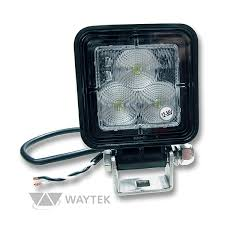 grote led trailer lights grote 64h01 5 led mini flood l 600 lumens waytek