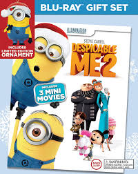 despicable me 2 limited edition ornament gift set