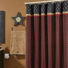 country shower curtains country bathroom