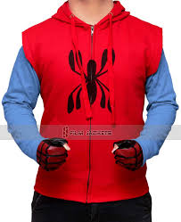 spiderman jacket tees and hoodies collection