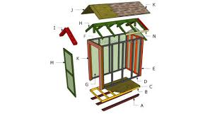 4x8 shed plans myoutdoorplans free woodworking plans and