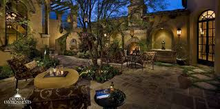 courtyard home courtyard landscaping design gilbert scottsdale front yard