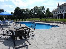 pool patio pavers around the pool olympic pool and spa