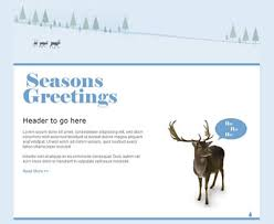 new festive and free u2013 christmas email marketing templates sign
