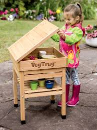 kid u0027s vegtrug potting bench kids gardening gardeners com