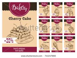 vector design bakery baking shop hand stock vector 304871972