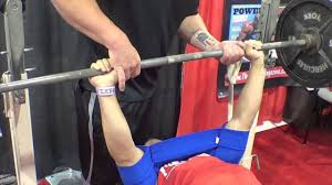 Bench For Working Out Trying The Sling Shot Out Bench Pressing Olympia Expo Youtube