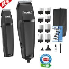 barber 30 piece kit hair cut electric men shaver trimmer clippers