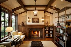 Traditional Style Home by Tudor Living Room Details 10 Ways To Bring Tudor Architectural
