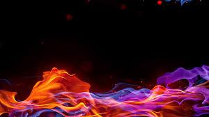 Color Spectrum Fire Color Spectrum Colors Black Background Rainbows Wallpapers