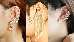 earrings cuffs orné jewels i want it all indian fashion beauty and lifestyle