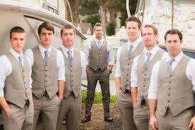 rustic wedding groomsman suits with vests bodega bay ca