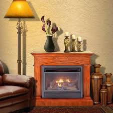 ventless gas fireplace insert installation vent free lowes reviews