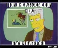 Bacon Meme Generator - welcome to the bacon empire bec s blue tardis