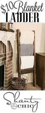 blanket ladder home decor wooden diy pinterest blanket